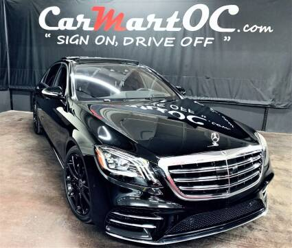 2018 Mercedes-Benz S-Class for sale at CarMart OC in Costa Mesa, Orange County CA