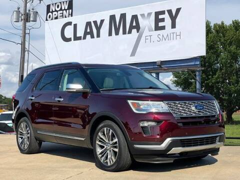 2018 Ford Explorer for sale at Clay Maxey Fort Smith in Fort Smith AR