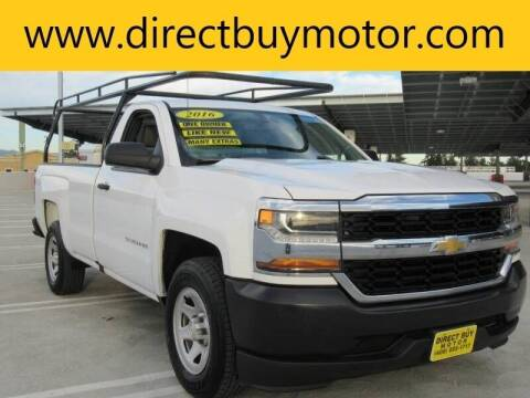 2016 Chevrolet Silverado 1500 for sale at Direct Buy Motor in San Jose CA