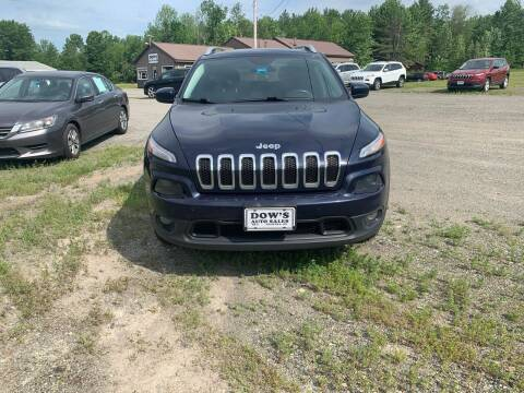 2015 Jeep Cherokee for sale at DOW'S AUTO SALES in Palmyra ME