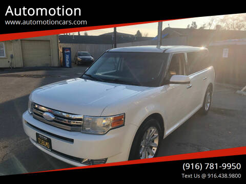 2012 Ford Flex for sale at Automotion in Roseville CA