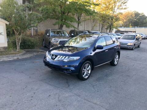 2010 Nissan Murano for sale at Five Brothers Auto Sales in Roswell GA