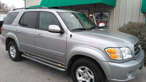 2003 Toyota Sequoia for sale at Haigler Motors Inc in Tyler TX