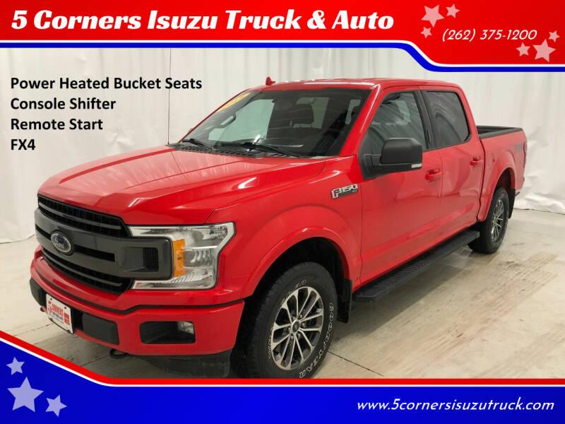 2018 Ford F-150 for sale at 5 Corners Isuzu Truck & Auto in Cedarburg WI