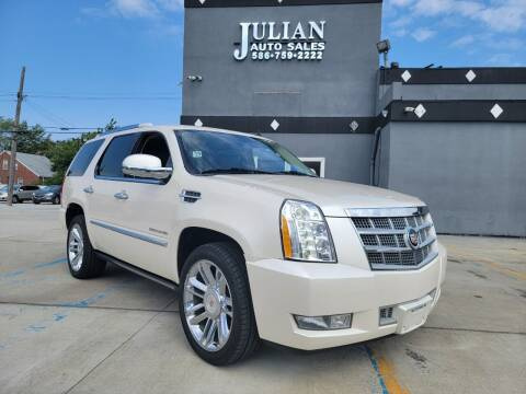 2014 Cadillac Escalade for sale at Julian Auto Sales, Inc. in Warren MI