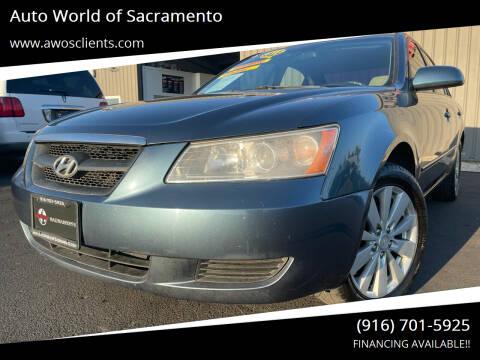 2006 Hyundai Sonata for sale at Auto World of Sacramento Stockton Blvd in Sacramento CA