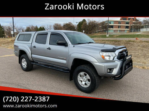2014 Toyota Tacoma for sale at Zarooki Motors in Englewood CO