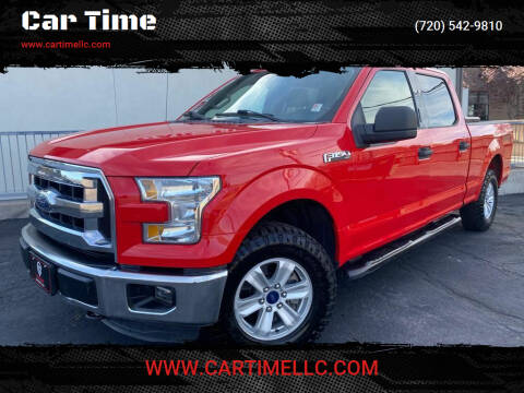 2015 Ford F-150 for sale at Car Time in Denver CO