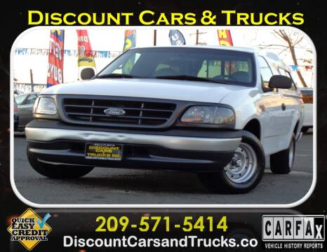 2000 Ford F-150 for sale at Discount Cars & Trucks in Modesto CA