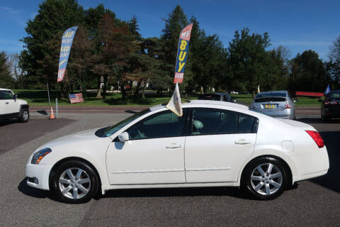 2005 Nissan Maxima for sale at GEG Automotive in Gilbertsville PA