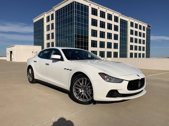 2016 Maserati Ghibli for sale at SIGNATURE Sales & Consignment in Austin TX