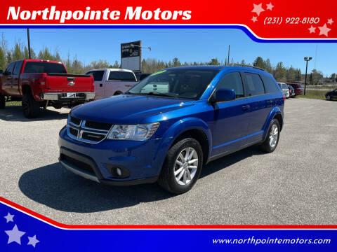 2015 Dodge Journey for sale at Northpointe Motors in Kalkaska MI