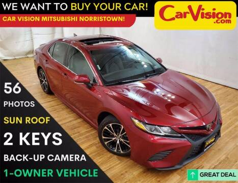 2018 Toyota Camry for sale at Car Vision Mitsubishi Norristown in Trooper PA