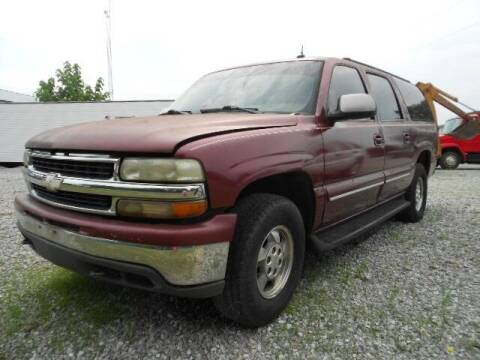 2003 Chevrolet Suburban for sale at David Hammons Classic Cars in Crab Orchard KY