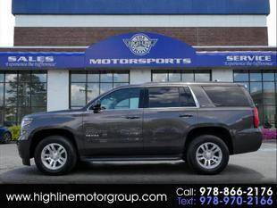 2017 Chevrolet Tahoe for sale at Highline Group Motorsports in Lowell MA