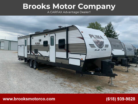2019 PUMA by Palamino 31 BHC for sale at Brooks Motor Company in Columbia IL