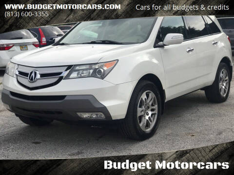 2008 Acura MDX for sale at Budget Motorcars in Tampa FL