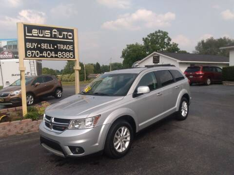 2014 Dodge Journey for sale at LEWIS AUTO in Mountain Home AR