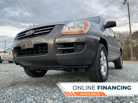 2008 Kia Sportage for sale at Prime One Inc in Walkertown NC