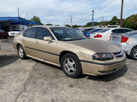 2000 Chevrolet Impala for sale at Dave-O Motor Co. in Haltom City TX