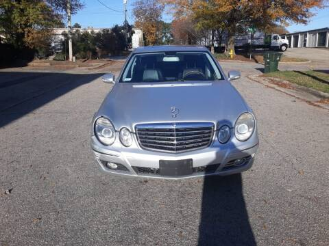 2008 Mercedes-Benz E-Class for sale at Horizon Auto Sales in Raleigh NC
