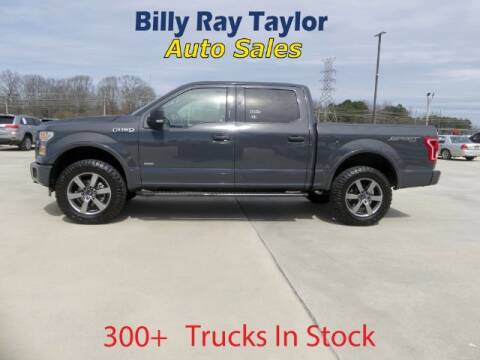 2016 Ford F-150 for sale at Billy Ray Taylor Auto Sales in Cullman AL