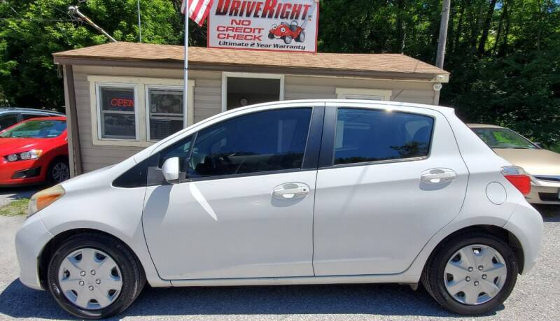 2012 Toyota Yaris for sale at DriveRight Autos South York in York PA
