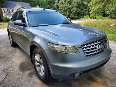 2004 Infiniti FX35 for sale at Palmer Automobile Sales in Decatur GA