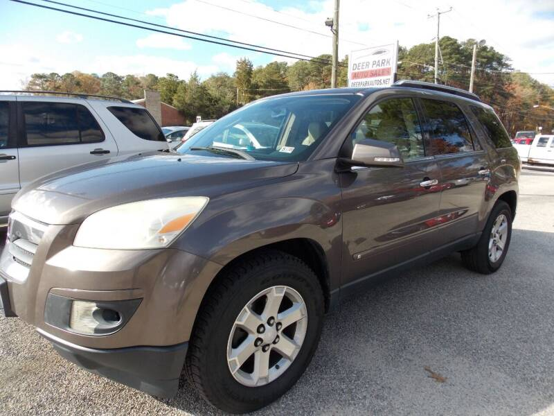 2008 Saturn Outlook for sale at Deer Park Auto Sales Corp in Newport News VA
