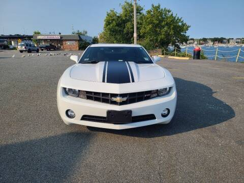 2013 Chevrolet Camaro for sale at Bridge Auto Group Corp in Salem MA