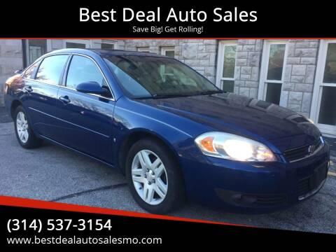 2006 Chevrolet Impala for sale at Best Deal Auto Sales in Saint Charles MO