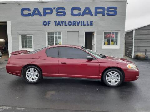 2006 Chevrolet Monte Carlo for sale at Caps Cars Of Taylorville in Taylorville IL