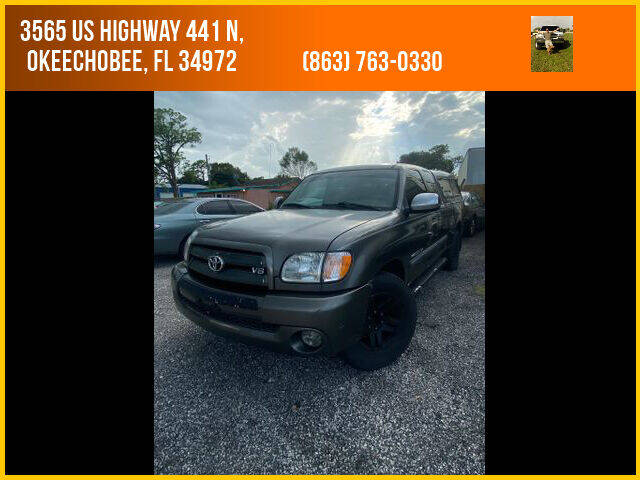 2003 Toyota Tundra for sale at M & M AUTO BROKERS INC in Okeechobee FL