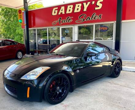 2004 Nissan 350Z for sale at GABBY'S AUTO SALES in Valparaiso IN