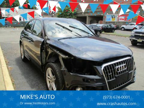 2015 Audi Q5 for sale at MIKE'S AUTO in Orange NJ