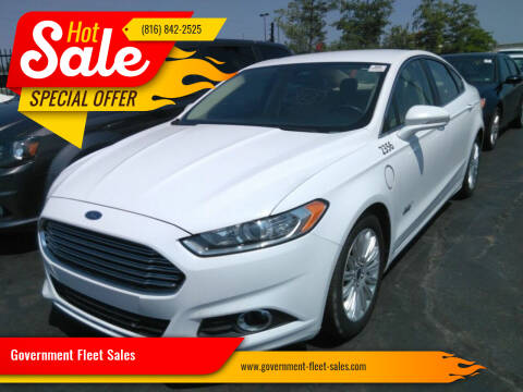 2016 Ford Fusion Energi for sale at Government Fleet Sales in Kansas City MO