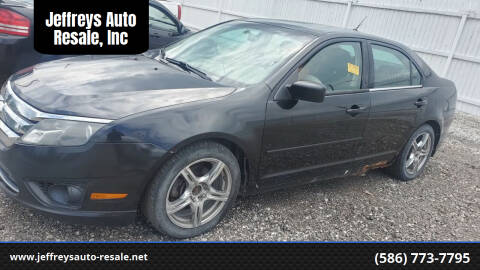 2010 Ford Fusion for sale at Jeffreys Auto Resale, Inc in Clinton Township MI