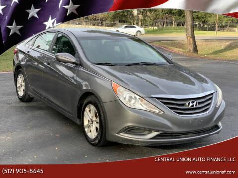 2012 Hyundai Sonata for sale at Central Union Auto Finance LLC in Austin TX