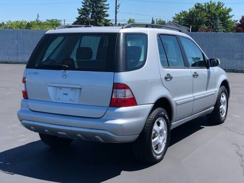 2002 Mercedes-Benz M-Class for sale at Washington Auto Sales in Tacoma WA