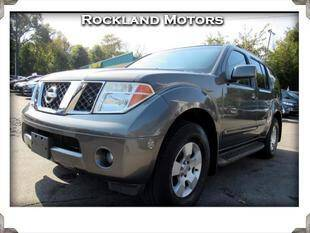 2005 Nissan Pathfinder for sale at Rockland Automall - Rockland Motors in West Nyack NY