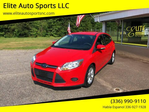 2014 Ford Focus for sale at Elite Auto Sports LLC in Wilkesboro NC