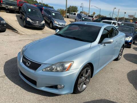 2010 Lexus IS 250C for sale at Philip Motors Inc in Snellville GA