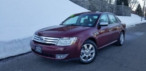 2008 Ford Taurus for sale at ENVY MOTORS LLC in Paterson NJ