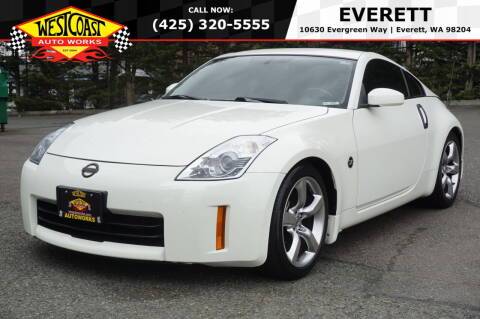 2006 Nissan 350Z for sale at West Coast Auto Works in Edmonds WA