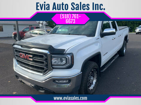 2016 GMC Sierra 1500 for sale at Evia Auto Sales Inc. in Glens Falls NY