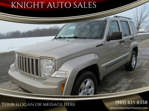 2010 Jeep Liberty for sale at KNIGHT AUTO SALES in Stanton MI