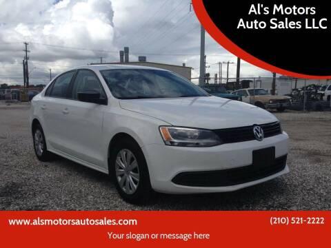 2012 Volkswagen Jetta for sale at Al's Motors Auto Sales LLC in San Antonio TX