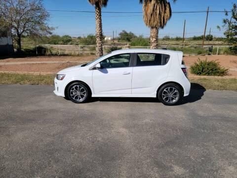 2017 Chevrolet Sonic for sale at Ryan Richardson Motor Company in Alamogordo NM