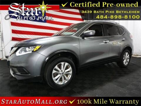 2016 Nissan Rogue for sale at STAR AUTO MALL 512 in Bethlehem PA