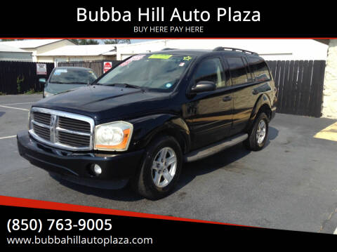 2005 Dodge Durango for sale at Bubba Hill Auto Plaza in Panama City FL